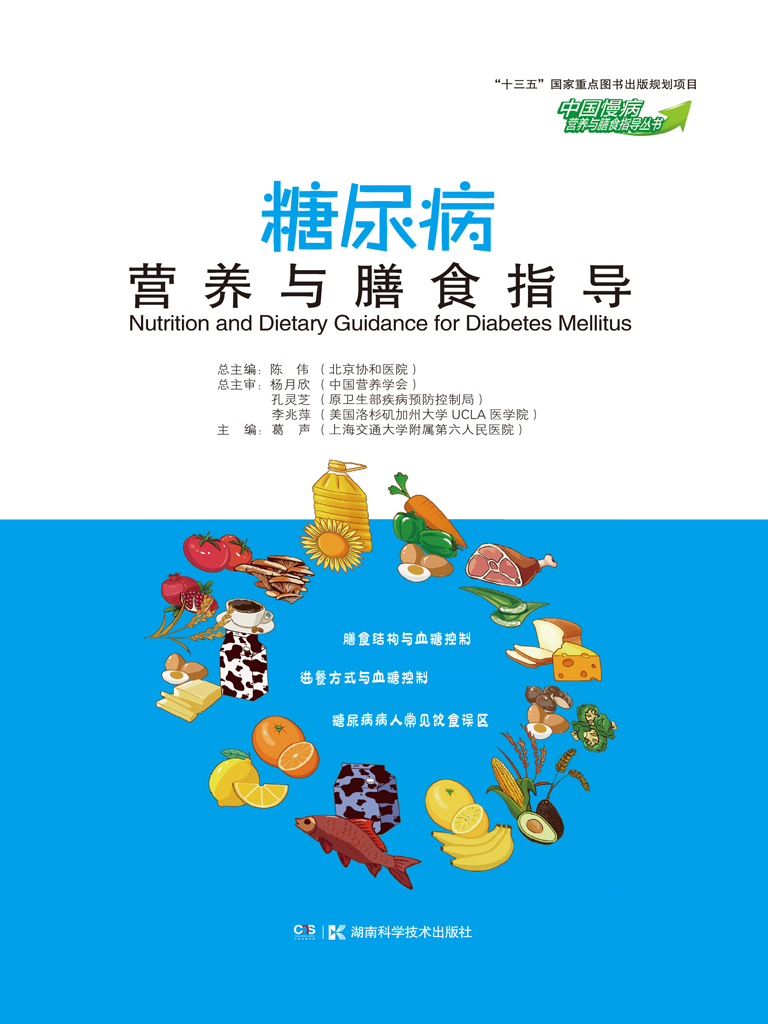 糖尿病营养与膳食指导(中国慢病营养与膳食指导丛书)