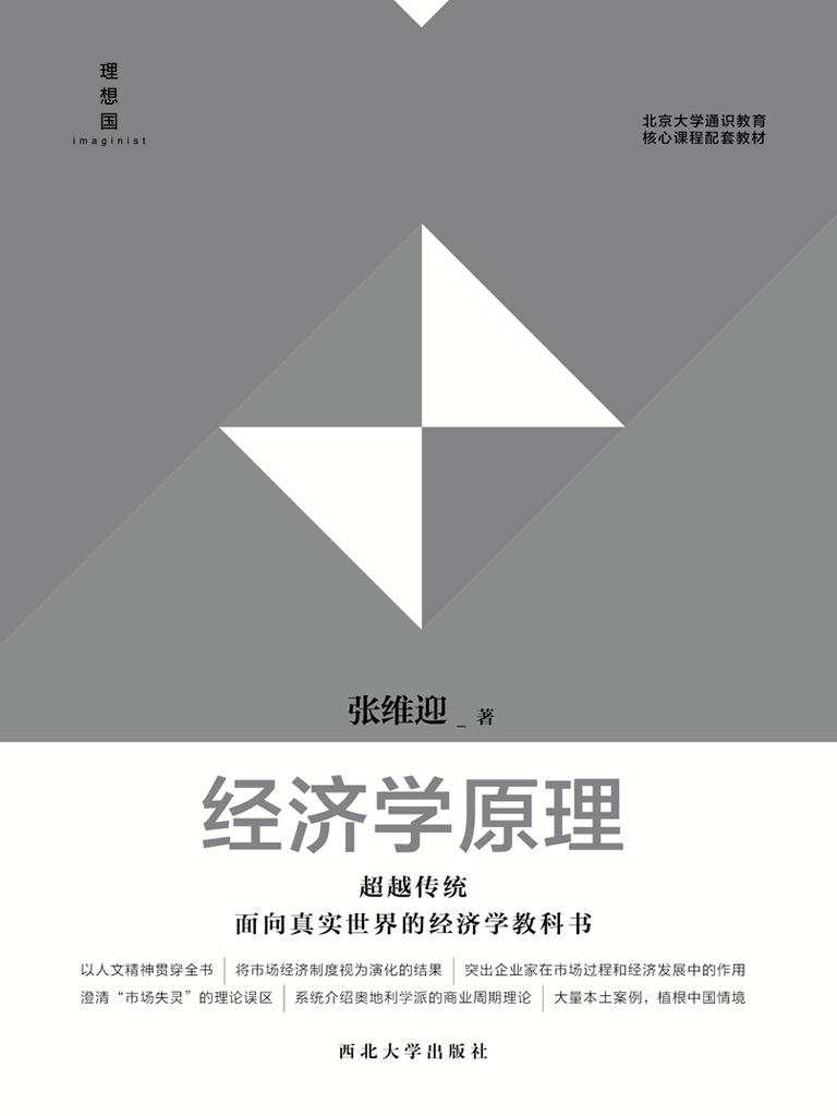 经济学原理(张维迎作品)