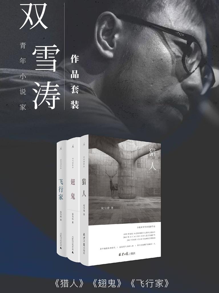 青年小说家双雪涛作品(共三册)