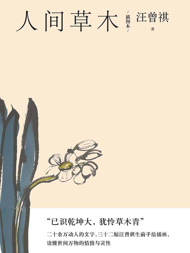 人间草木:插图本(汪曾祺散文小丛书)