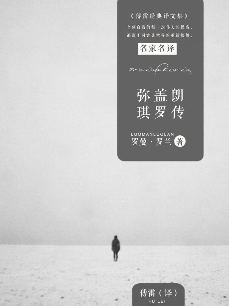 弥盖朗琪罗传(傅雷经典译文集)