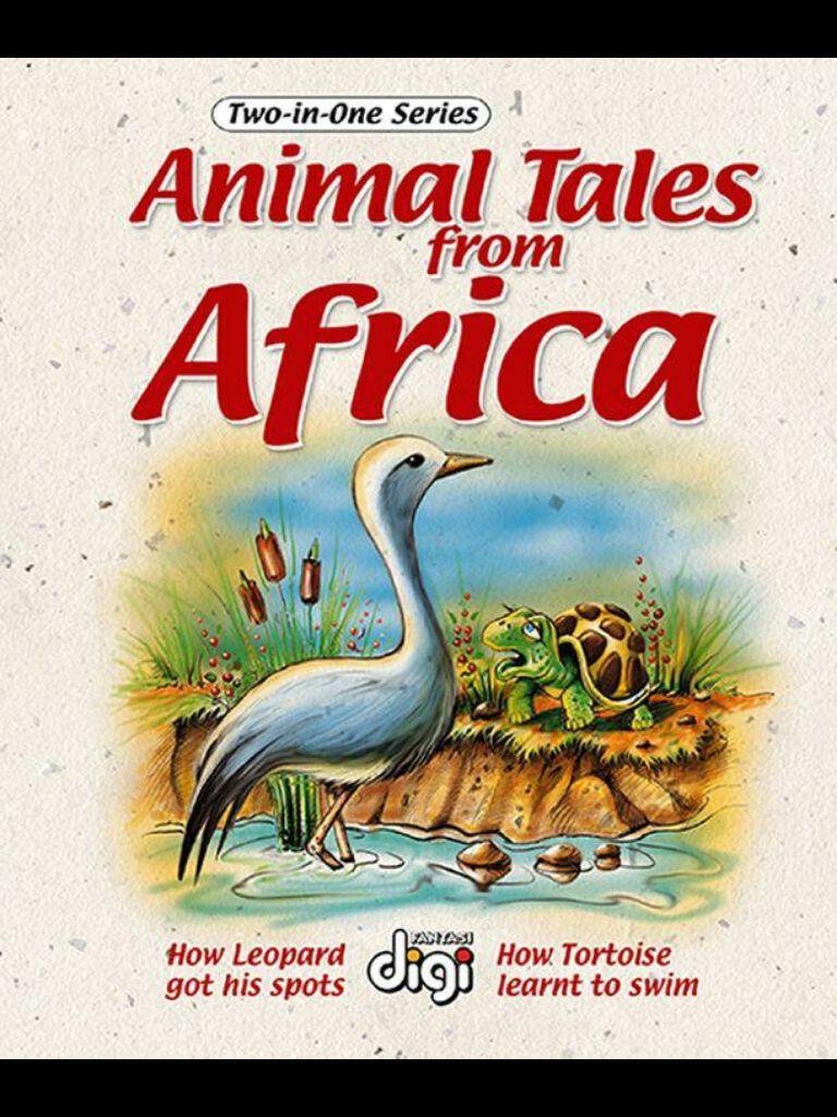 非洲动物故事2 Two-in-one:Animal Tales from Africa 2(英文版)