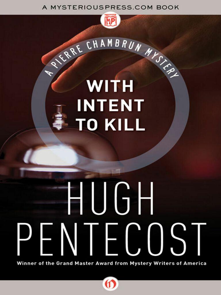 With Intent to Kill(Pentecost Hugh)