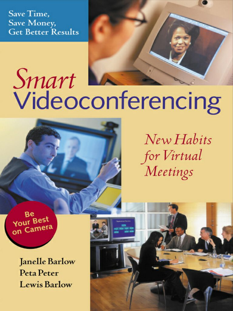 Smart Videoconferencing-New Habits for Virtual Meetings