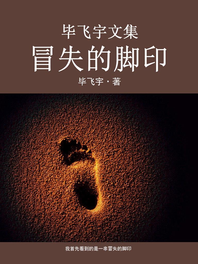 毕飞宇文集:冒失的脚印