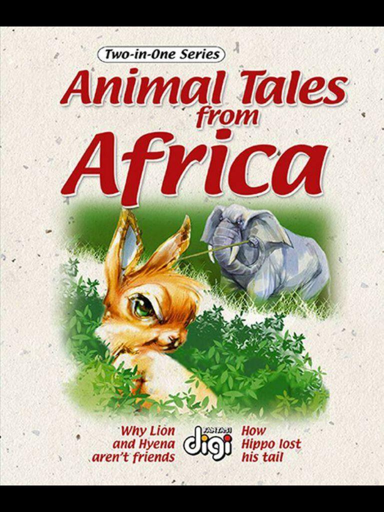 非洲动物故事1 Two-in-one:Animal Tales from Africa 1(英文版)