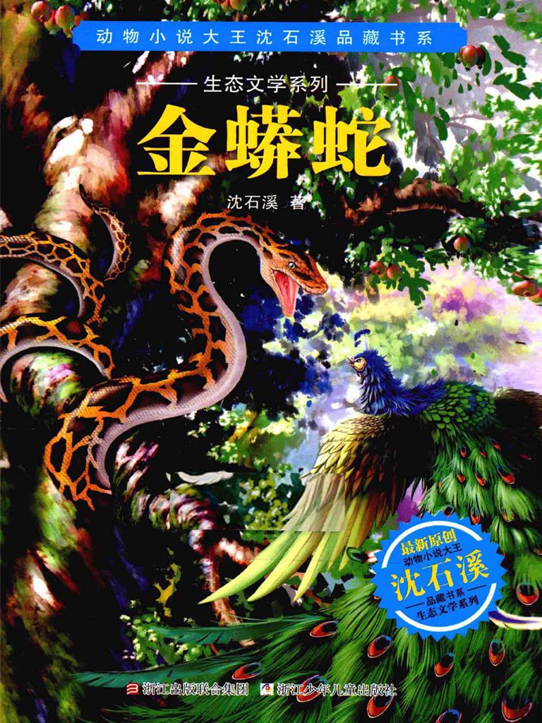 金蟒蛇(动物小说大王沈石溪品藏书系·生态文学系列)