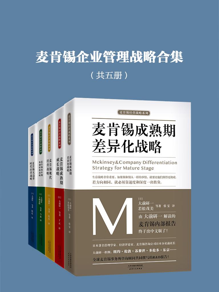 麦肯锡企业管理战略合集(共五册)