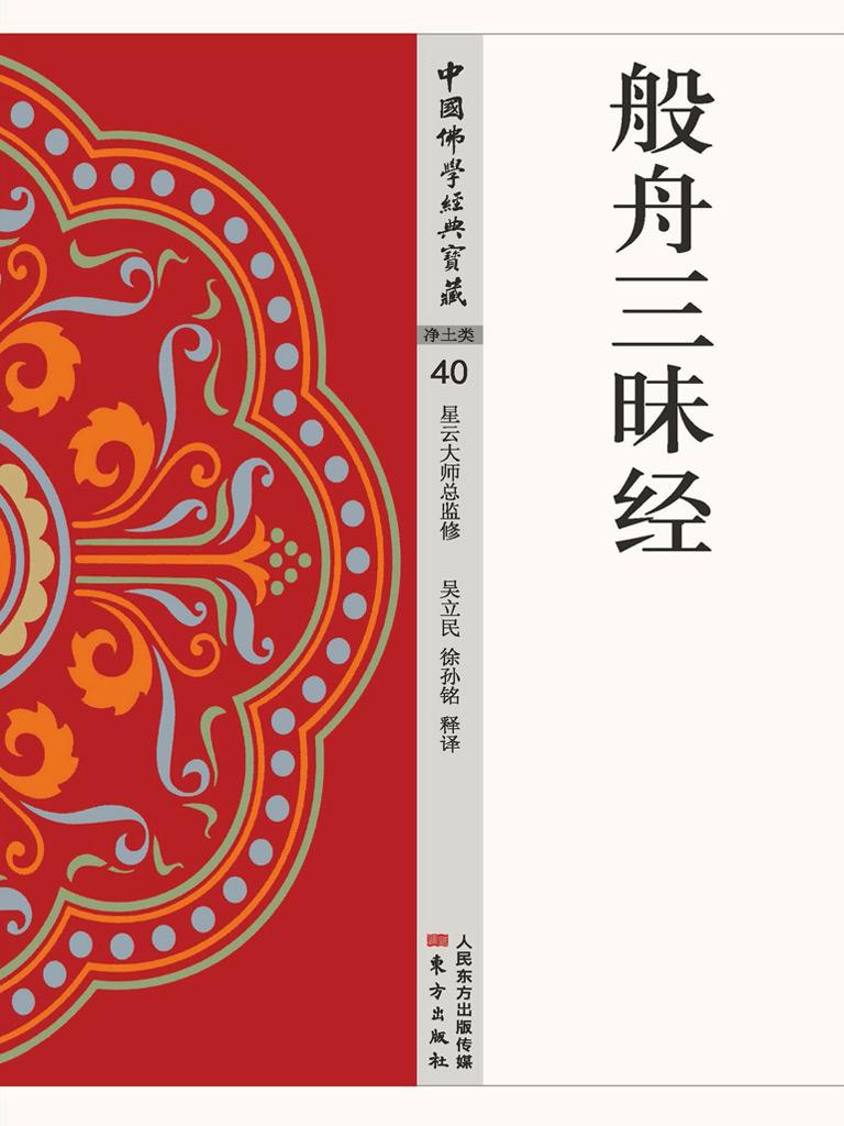 般舟三昧经(中国佛学经典宝藏)