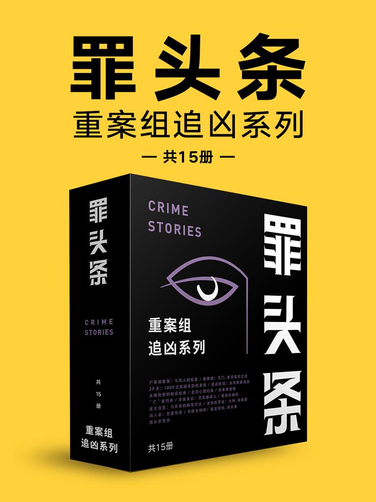 罪头条:重案组追凶系列(共15册)