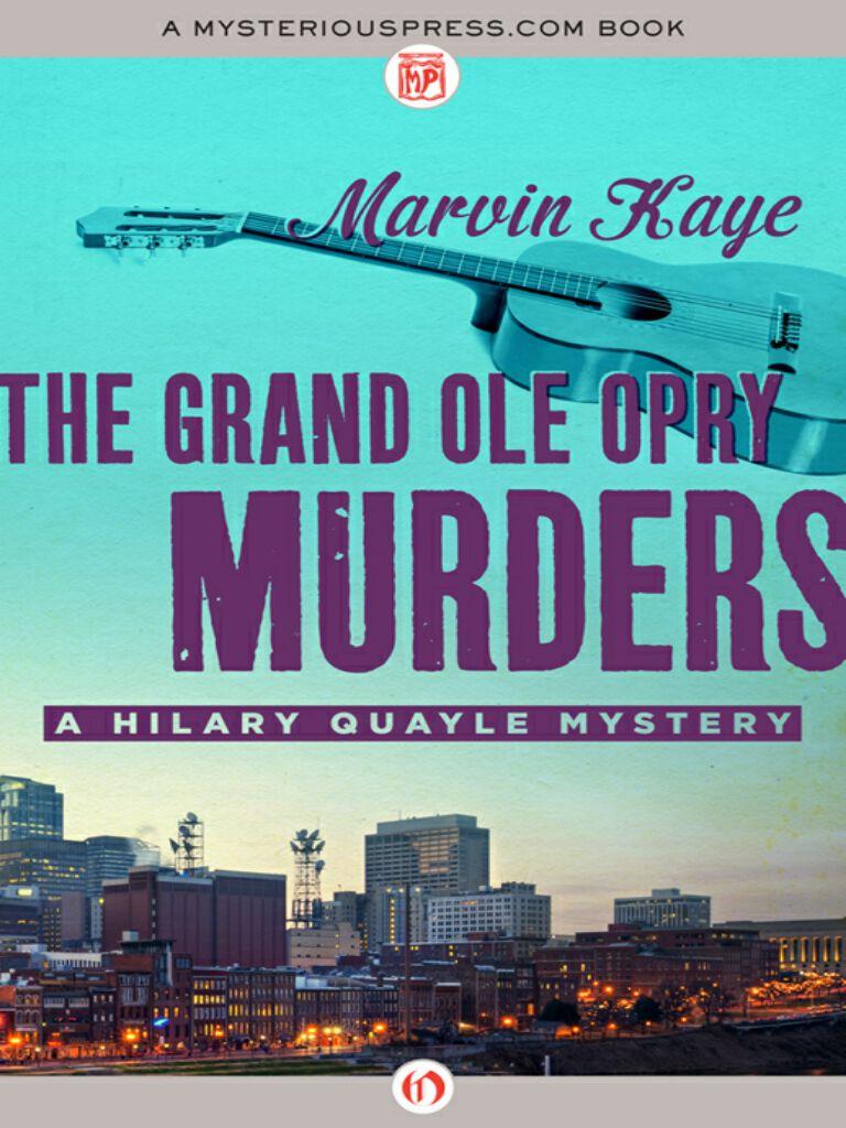 The Grand Ole Opry Murders
