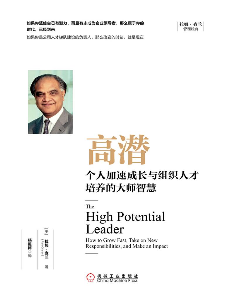 高潜:个人加速成长与组织人才培养的大师智慧