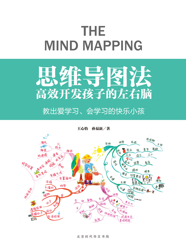思维导图法:高效开发孩子的左右脑