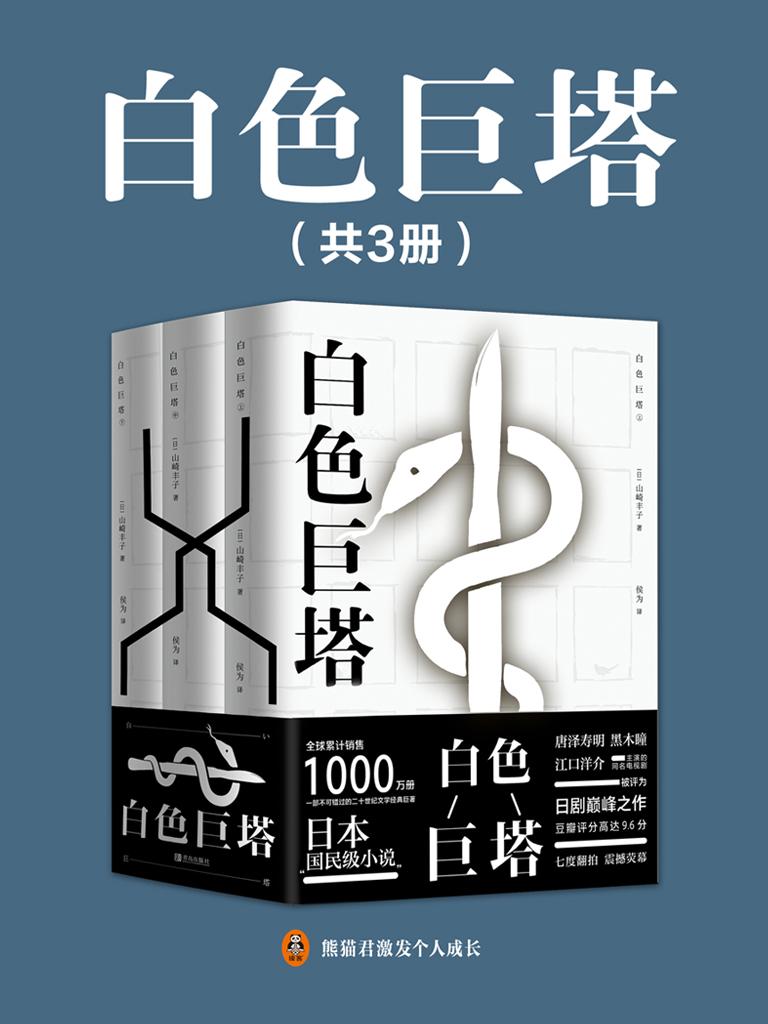 白色巨塔(共3册)