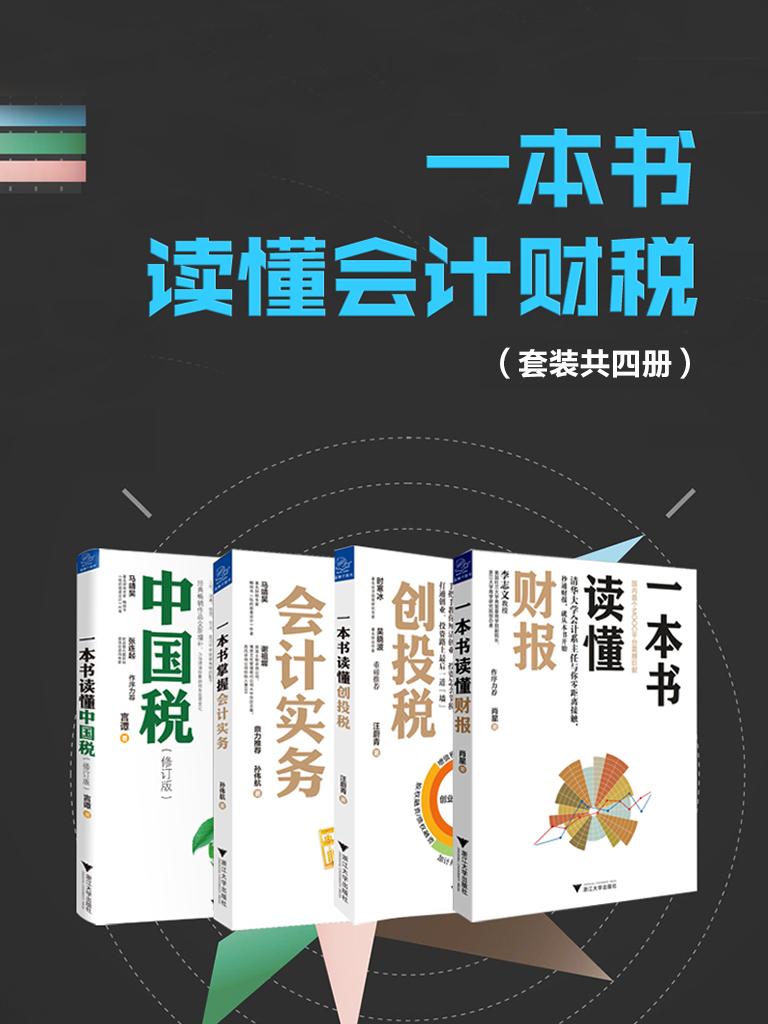 一本书读懂会计财税(共四册)