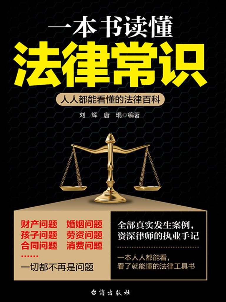 一本书读懂法律常识:人人都能看懂的法律百科