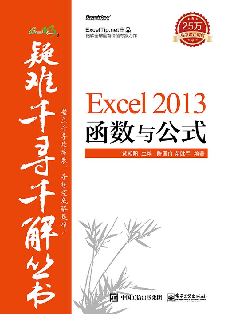 Excel 2013 函数与公式