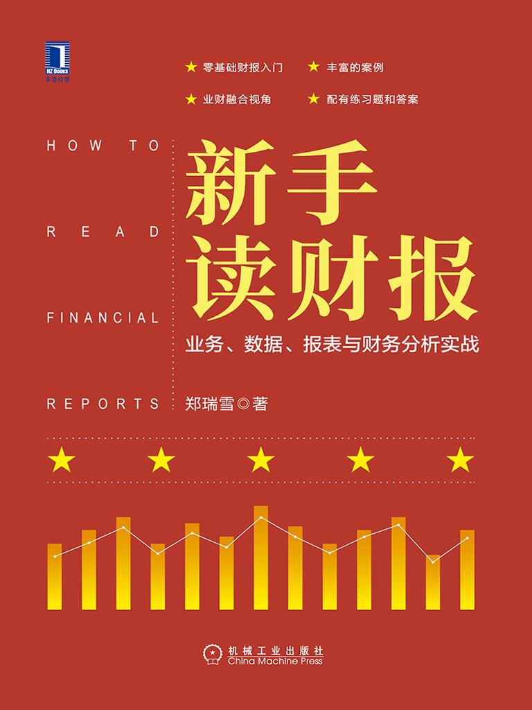 新手读财报:业务、数据、报表与财务分析实战