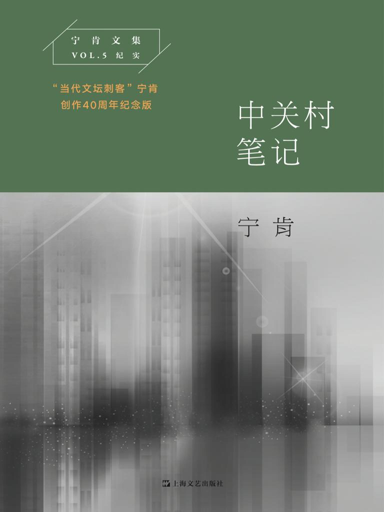 中关村笔记(宁肯文集)