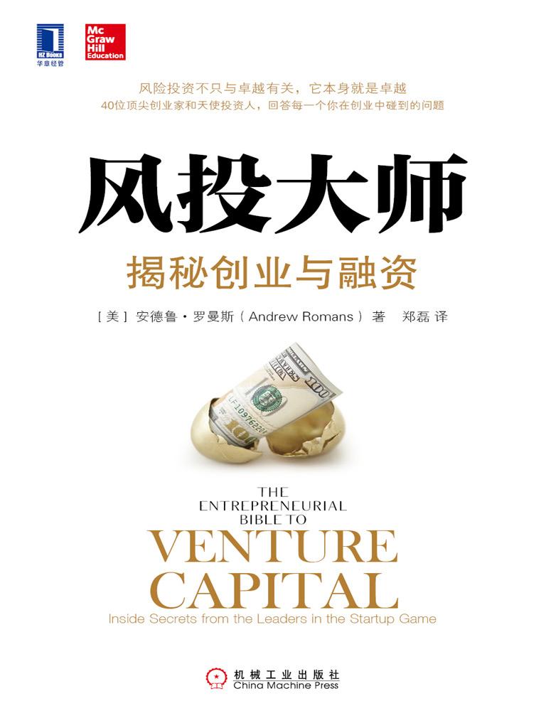 風投大師:揭秘創業與融資