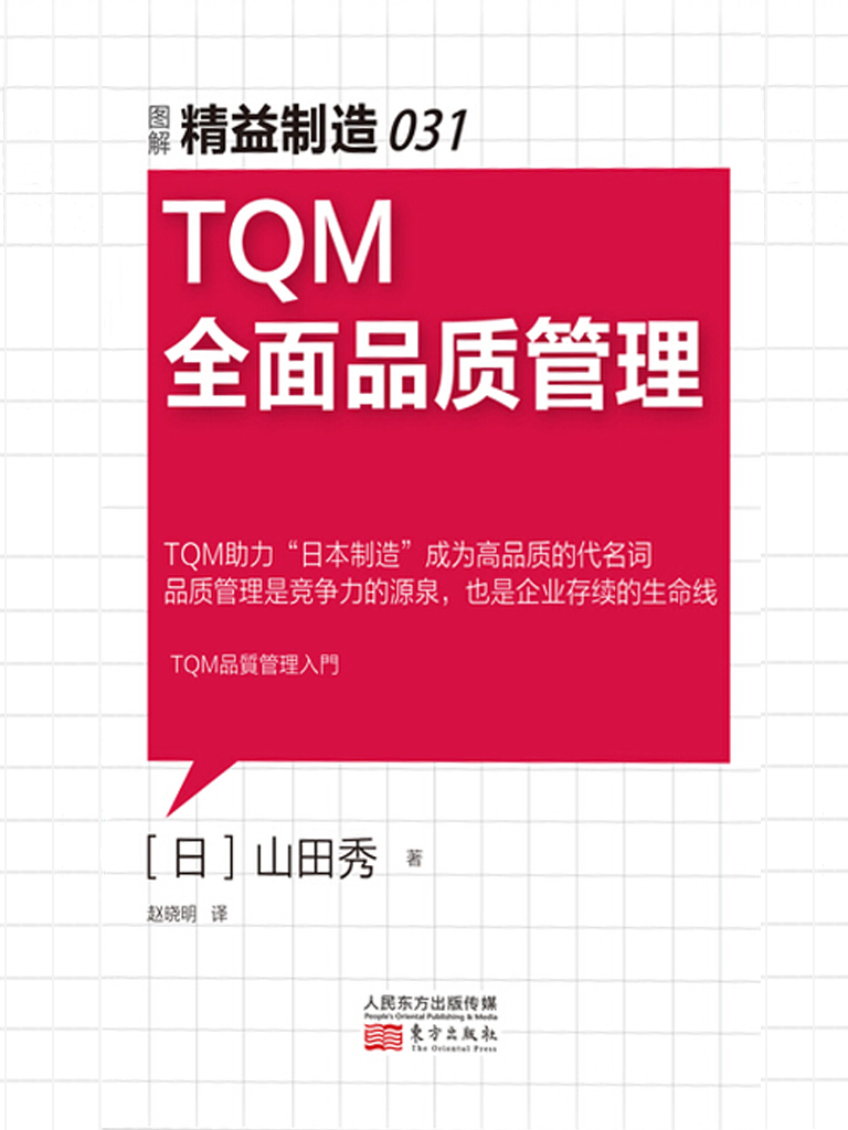 TQM全面品质管理(精益制造031)