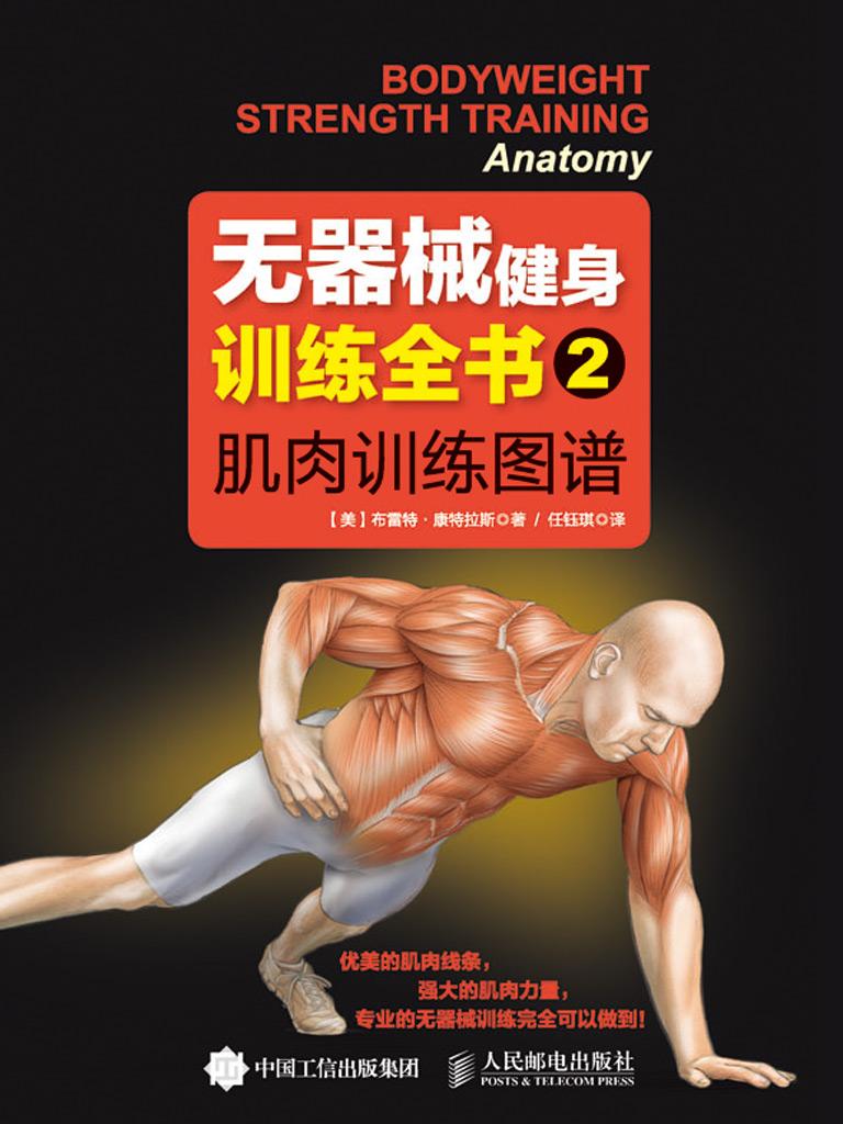 无器械健身训练全书 2:肌肉训练图谱