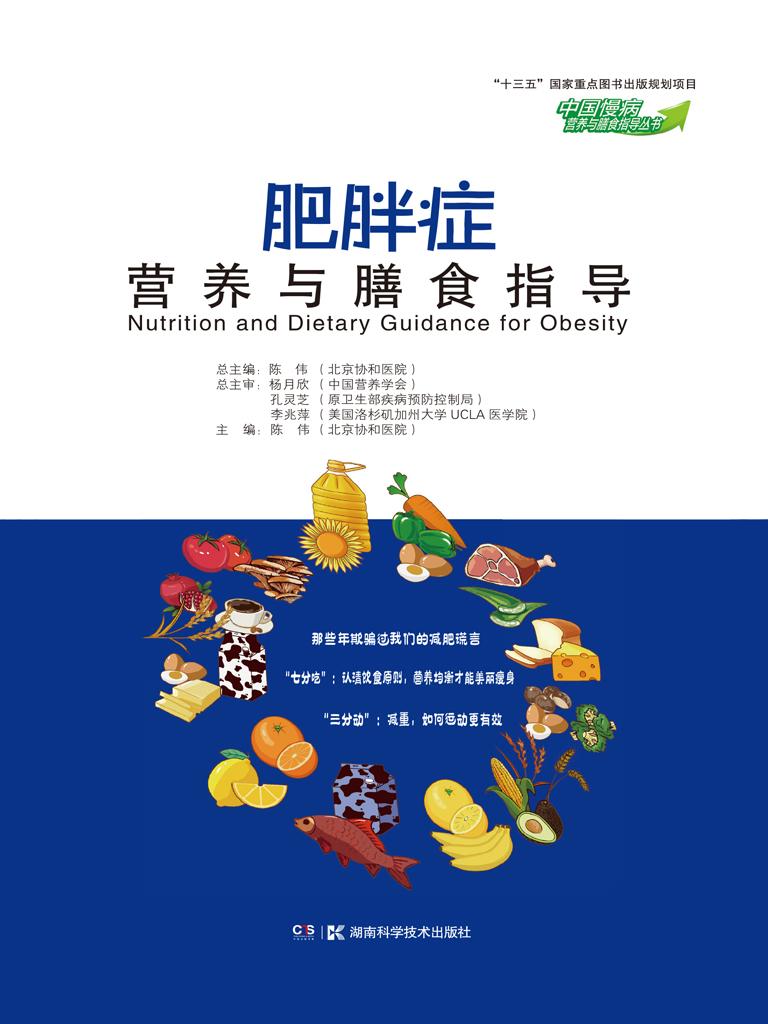 肥胖症营养与膳食指导(中国慢病营养与膳食指导丛书)