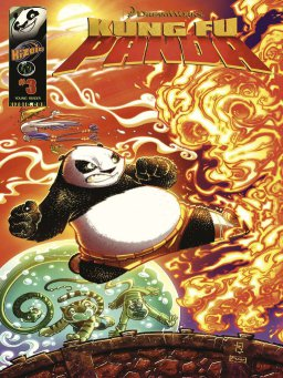 Kung Fu Panda Vol.1 Issue 3(功夫熊猫 英文版)