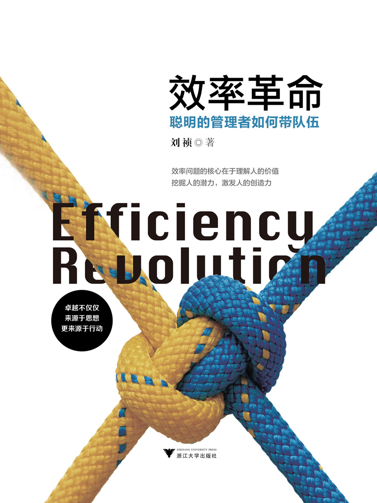 效率革命:聰明的管理者如何帶隊伍
