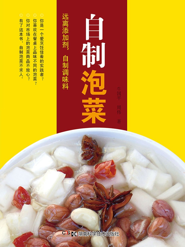 自制泡菜(远离添加剂,自制调味料系列)