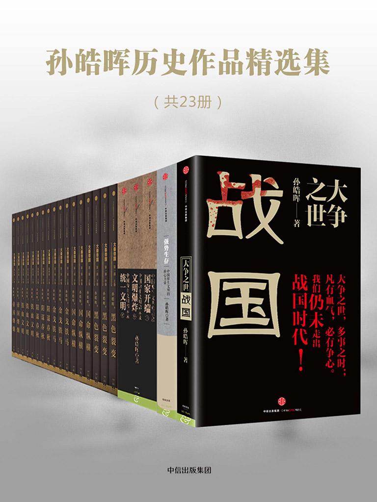 孫皓暉歷史作品精選集(共23冊)