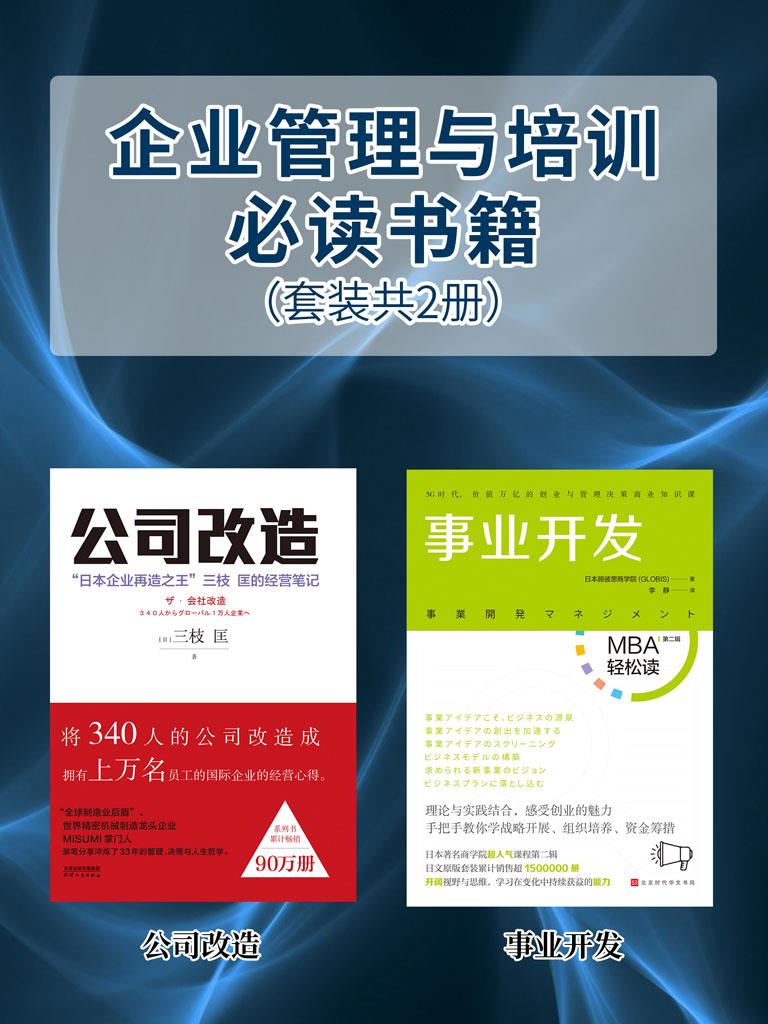 企业管理与培训必读书籍(套装共2册)
