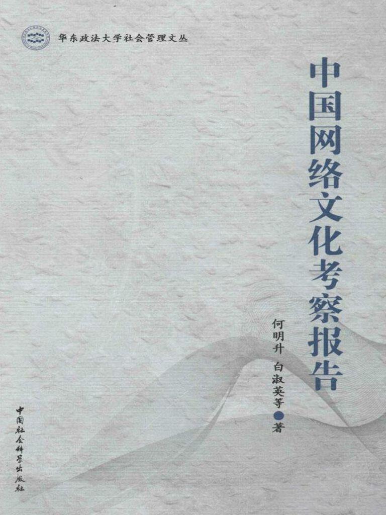 中国网络文化考察报告