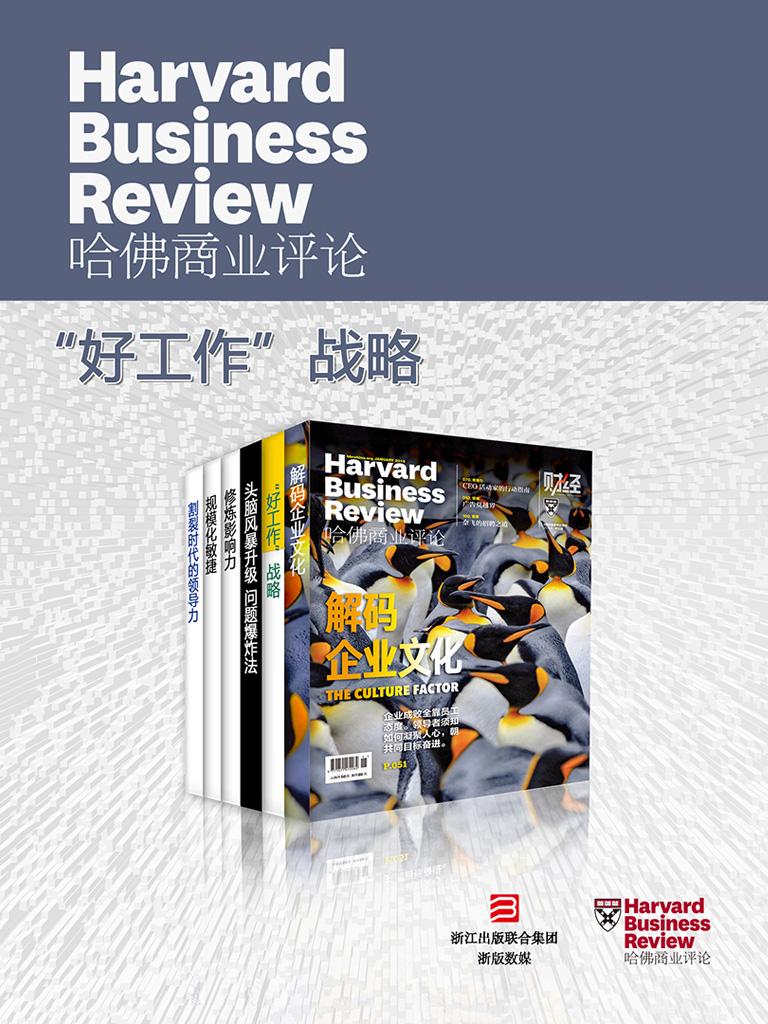 哈佛商业评论·『好工作』战略【精选必读系列】(全六册)