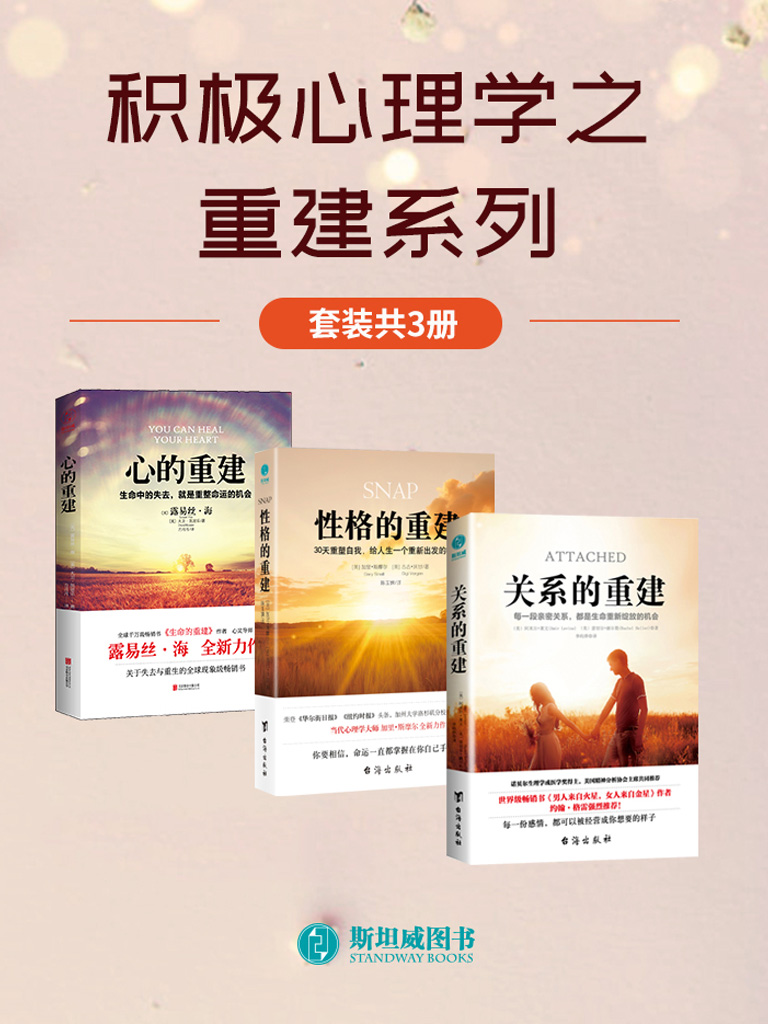 积极心理学之重建系列(套装共3册)