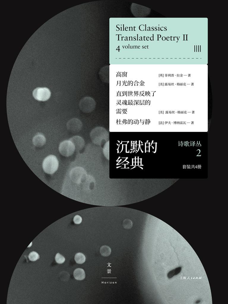 沉默的经典诗歌译丛 2(共四册)