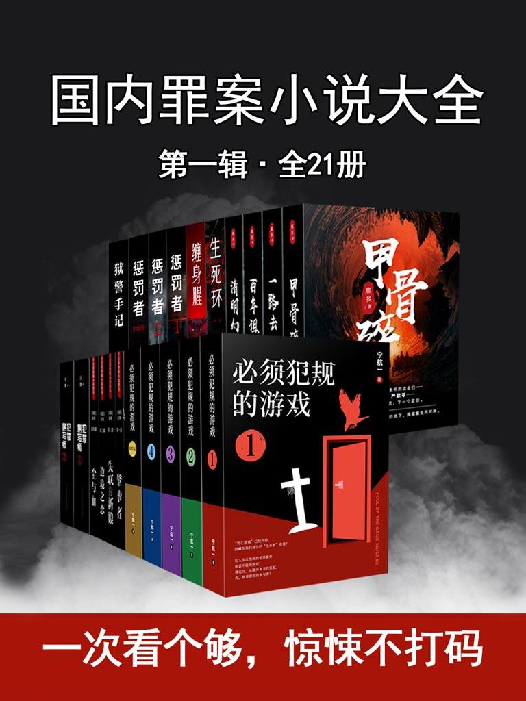 国内罪案小说大全(第一辑 全21册)