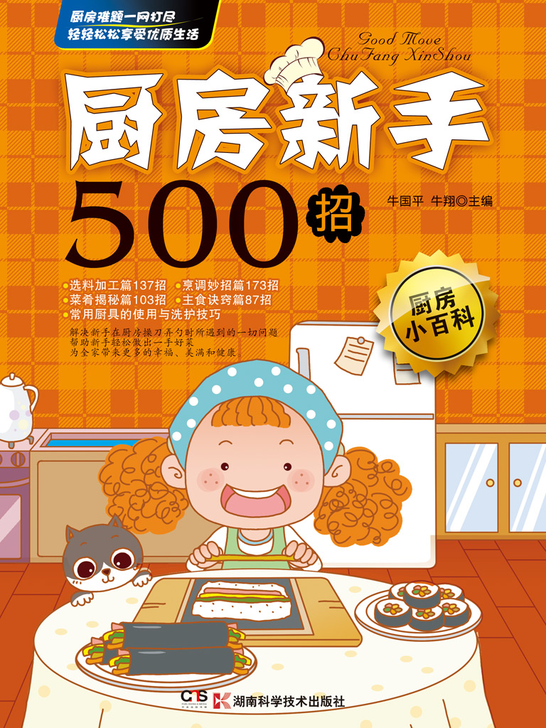 厨房新手500招