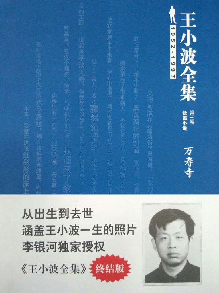 万寿寺(王小波全集 3)