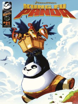 Kung Fu Panda Vol.1 Issue 2(功夫熊猫 英文版)