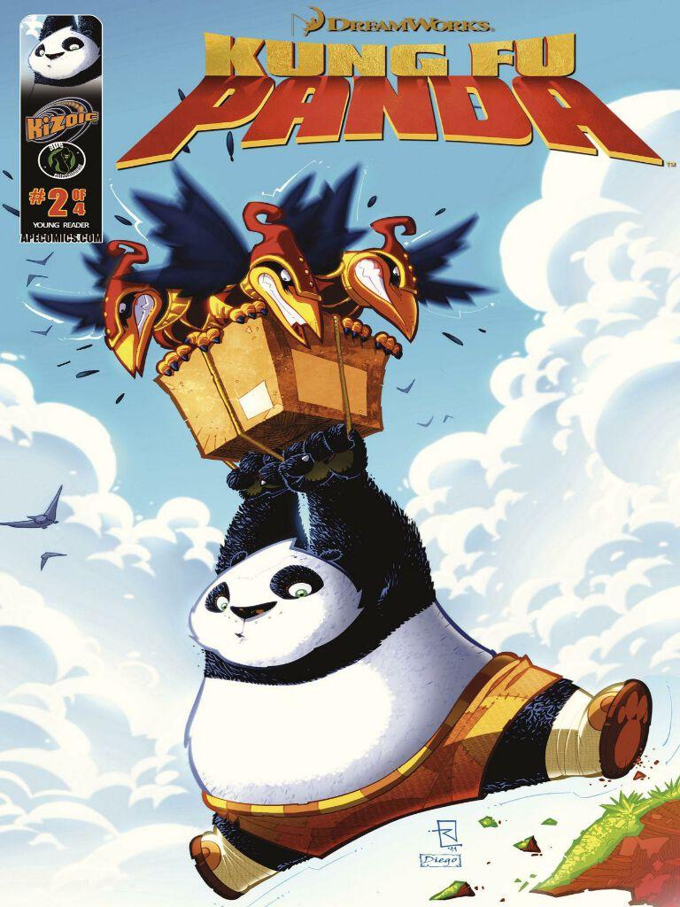Kung Fu Panda Vol.1 Issue 2(功夫熊猫 英文版)