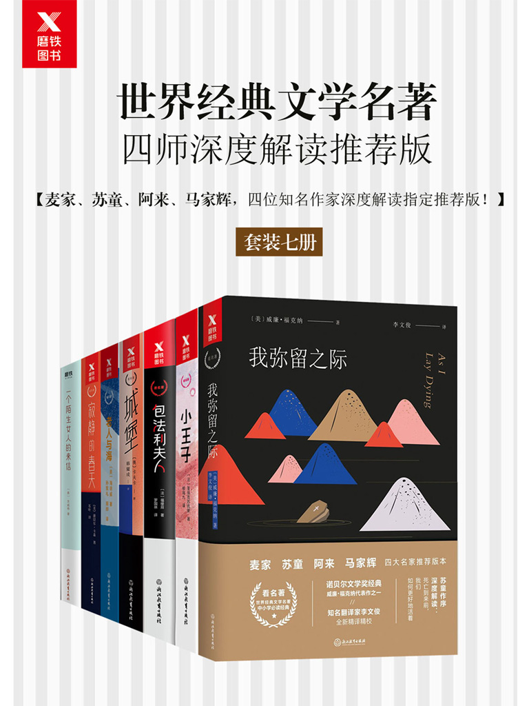 世界经典文学名著(四师深度解读推荐版 共七册)