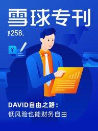 雪球专刊·DAVID自由之路:低风险也能财务自由(第258期)