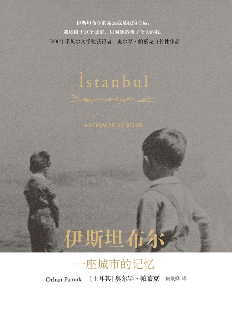伊斯坦布尔,一座城市的记忆(帕慕克别样的色彩系列)