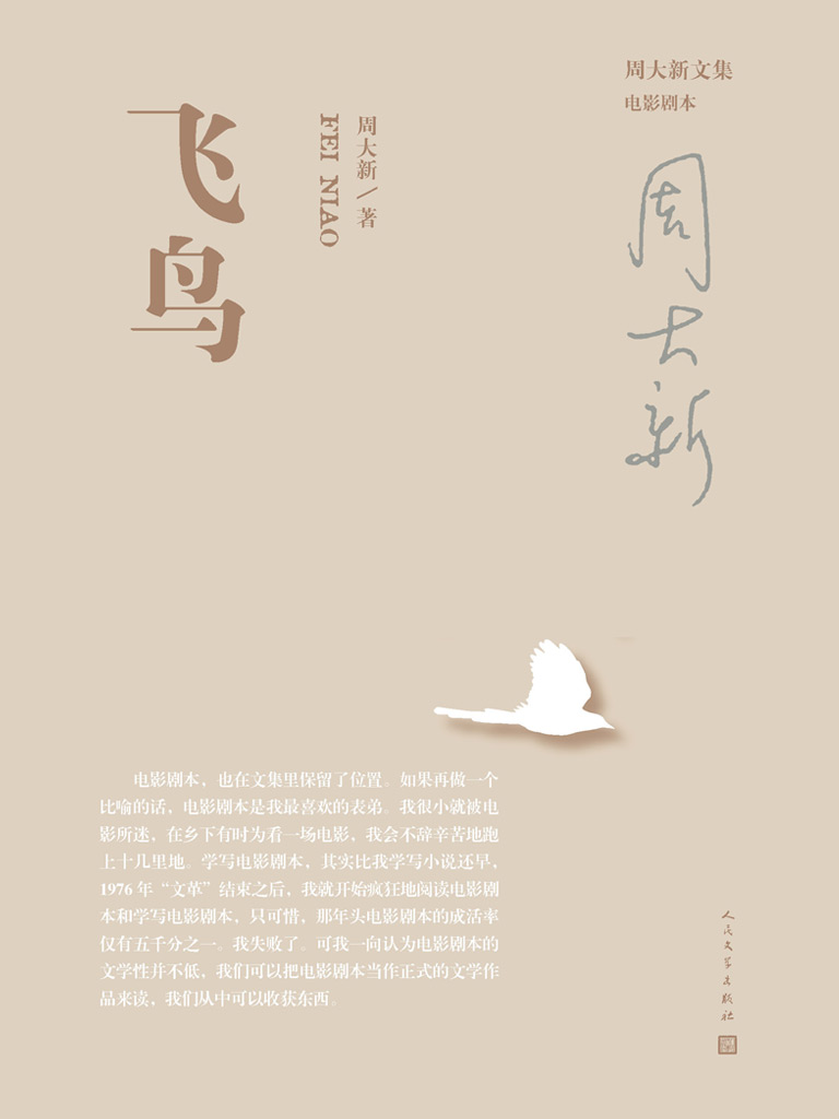 飞鸟(周大新文集)