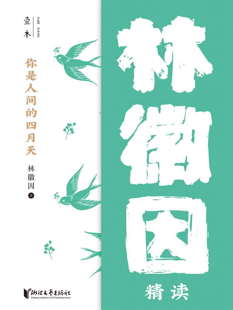 你是人间的四月天:林徽因精读