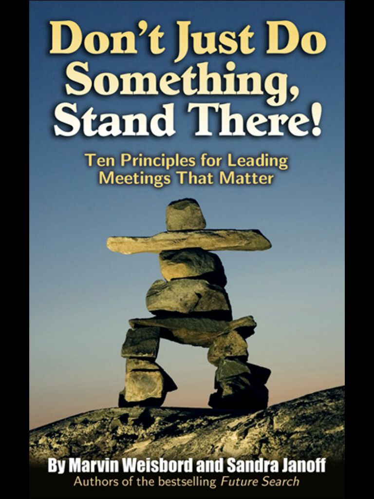 Don't Just Do Something,Stand There!