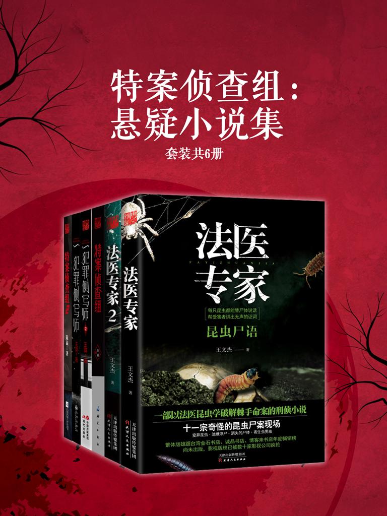 特案侦查组:悬疑小说集(共六册)