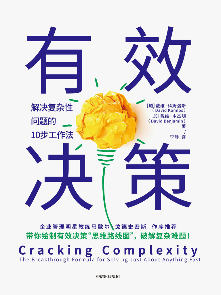 有效决策:解决复杂性问题的10步工作法