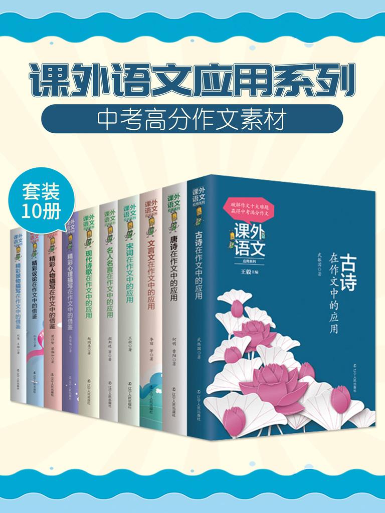 课外语文应用系列:破解作文10大难题(套装10册)